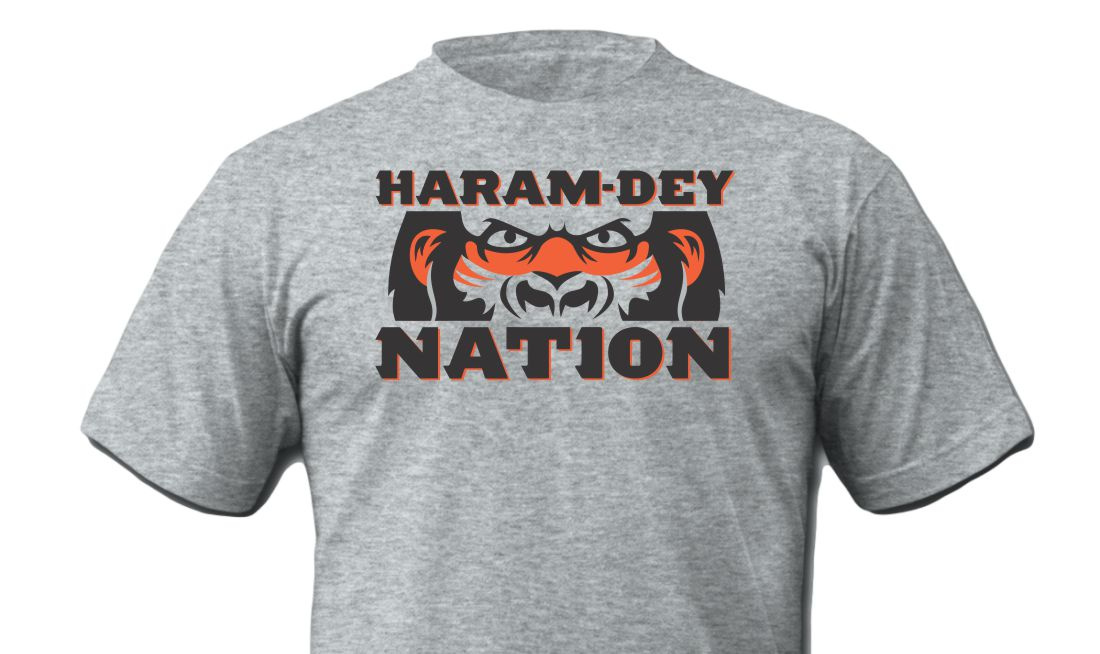 Haram Dey Nation T-Shirt Cincinnati