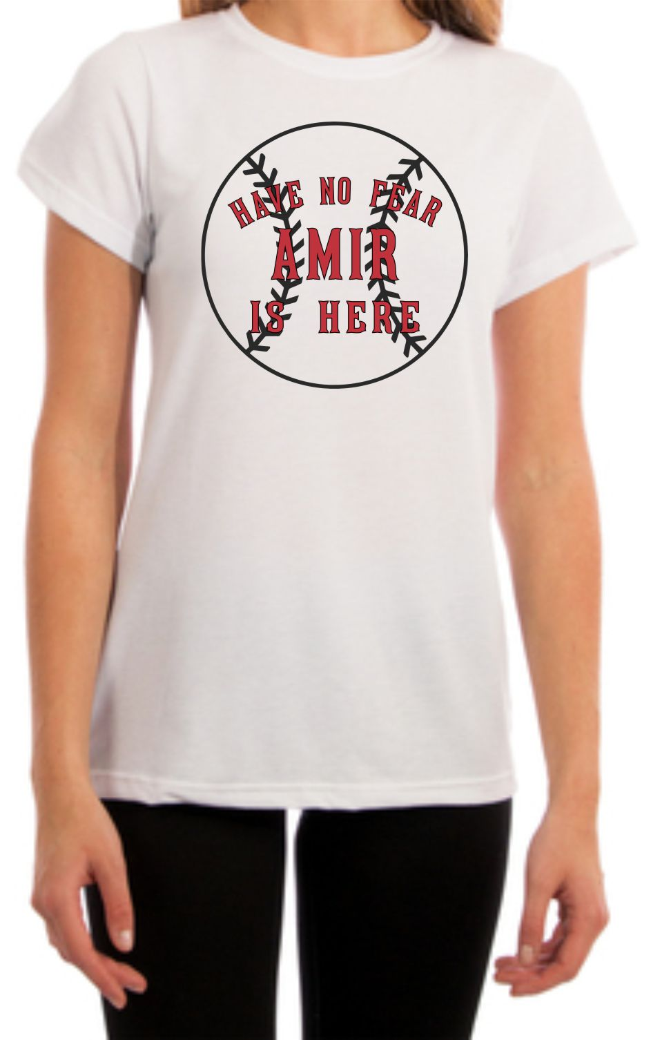 Have No Fear Amir is Here Shirt Womens