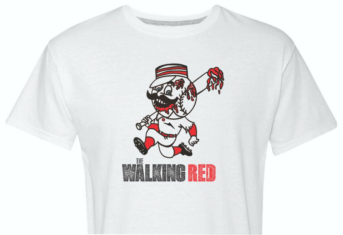 The Walking Red Cincinnati Shirt