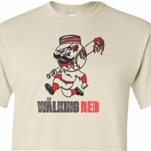 The Walking Red Shirt Sand