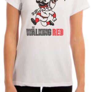 The Walking Red Womens Fit Cincinnati Shirt