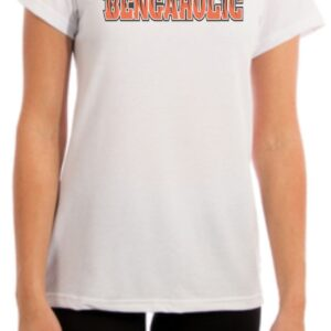 Hello My Name is and I am a Bengaholic Shirt Womens Fit