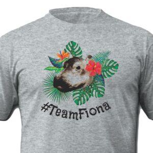 Team Fiona Cincinnati Zoo Shirt Sport Grey Shirt