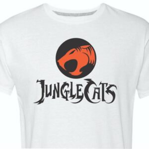 Jungle Cats Cincinnati Tshirt White