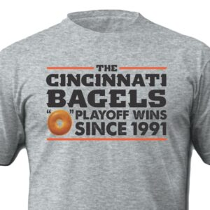 Cincinnati Bagels Grey Shirt