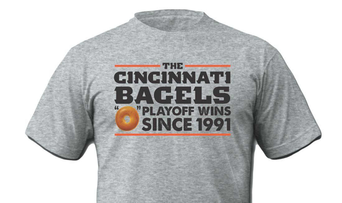 Cincinnati Bagels Grey Shirt