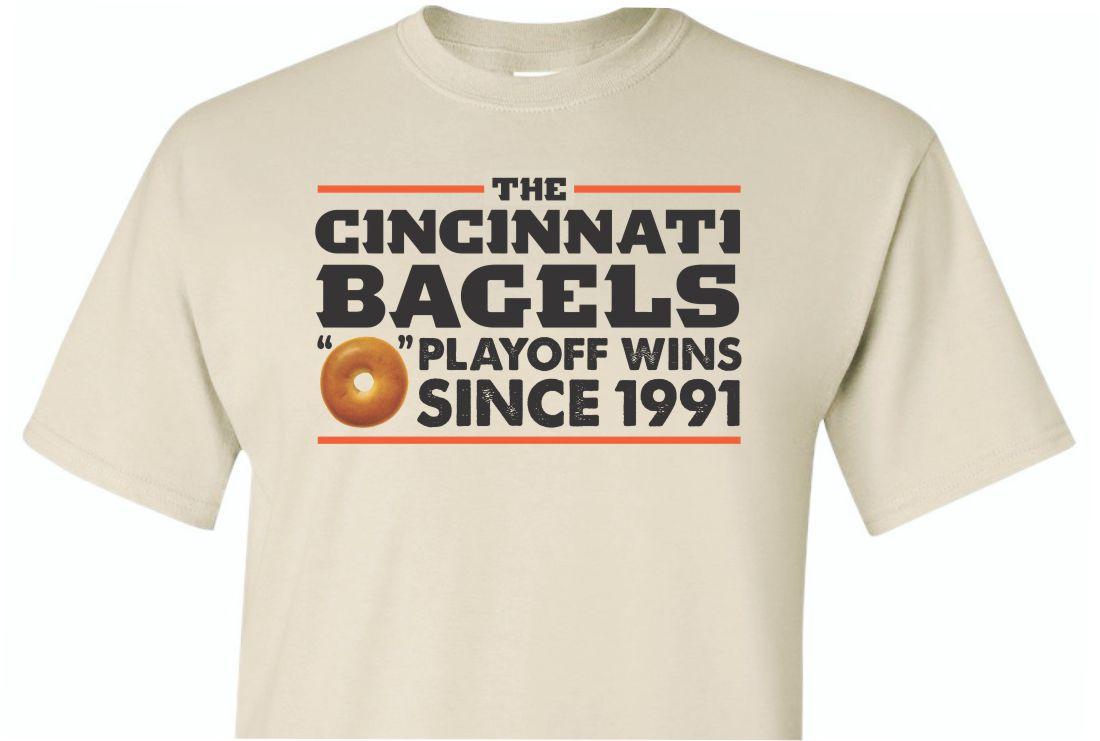 Cincinnati Bagels Shirt Sand