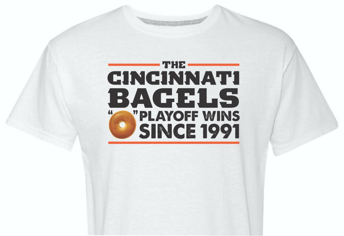 Cincinnati Bagels Shirt White
