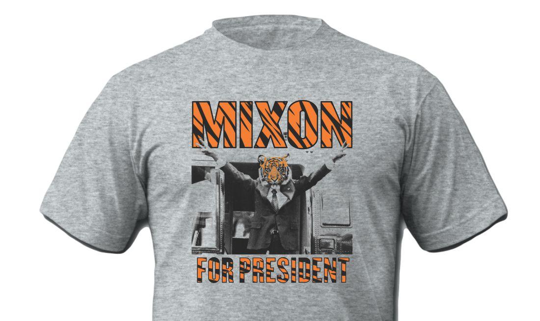 Mixon For President Grey Shirt