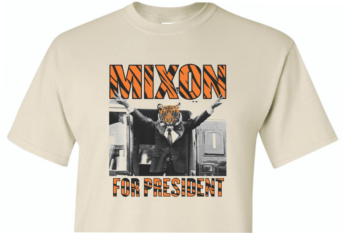Mixon For President Sand Shirt