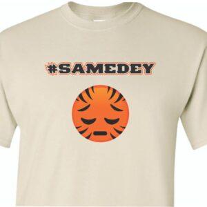 SameDey Who Dey Shirt-Sand