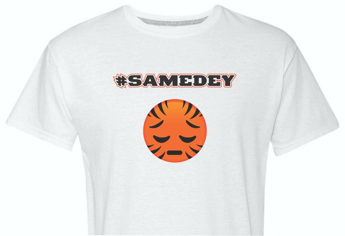 SameDey Who Dey Shirt-White