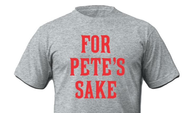 Cincinnati For Petes Sake Grey Shirt